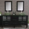 8119BXL_CP_2 Espresso XL Double Vessel Sink Vanity Set