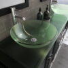 8119BXL_CP_3 Espresso XL Double Vessel Sink Vanity Set