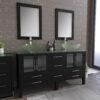 8119B Espresso Bathroom Vanity