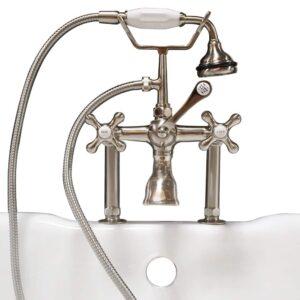 deckmount classic telephone faucet,