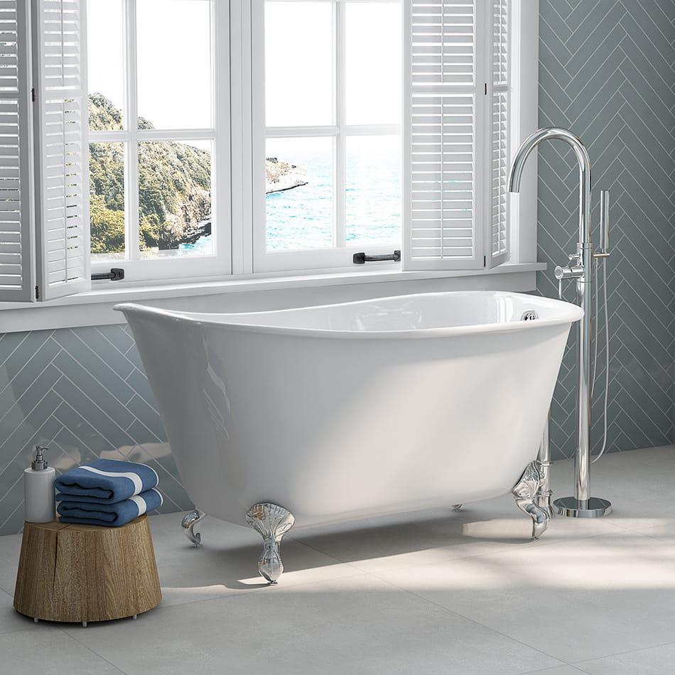 clawfoot swedish slipper tub 01