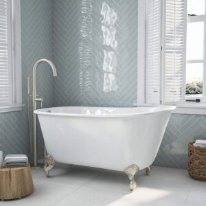 Swedish Tub w/standing faucet bn 01