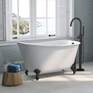 Clawfoot Slipper Tub with ORB Faucet 02