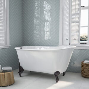 "58"" Swedish Tub w/orb feet 01"
