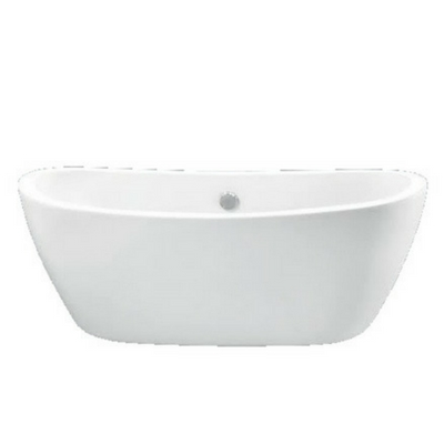 Acrylic, Oval, Double Ended, Tub,