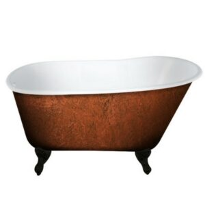 Swedish Clawfoot Cast Iron Tub,