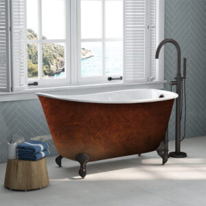 Copper Bronze Swedish Slipper Tub 01