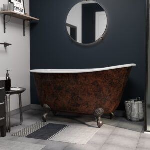 Copper Bronze Swedish Tub TC58SWCI-NH-ORB-CB