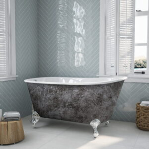 Swedish Tub with Scorched Platinum Finish 01