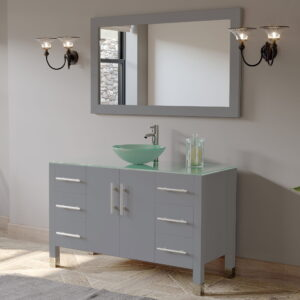 grey bathroom vanity set 02