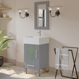 grey single sink vanity set 06