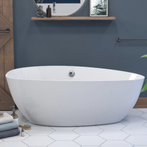 "ES-FSDEO62 62"" Oval Tub"